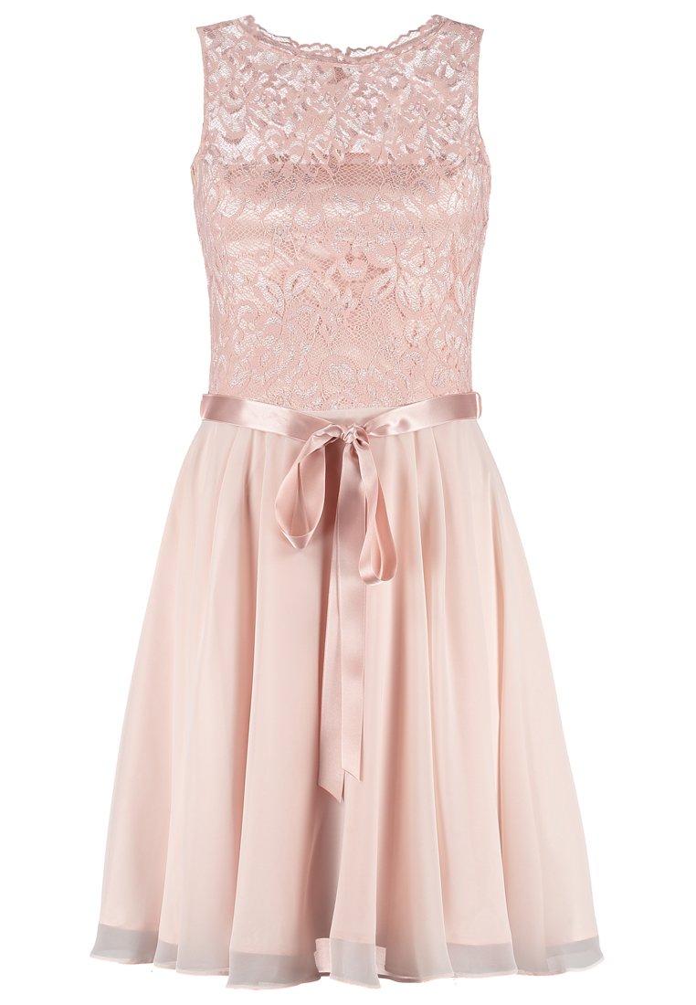swing cocktailjurk roze roze jurkensite. Black Bedroom Furniture Sets. Home Design Ideas